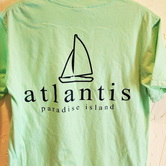 Comfort Colors Tops - Atlantis Paradise Island Bahamas Mint T-Shirt